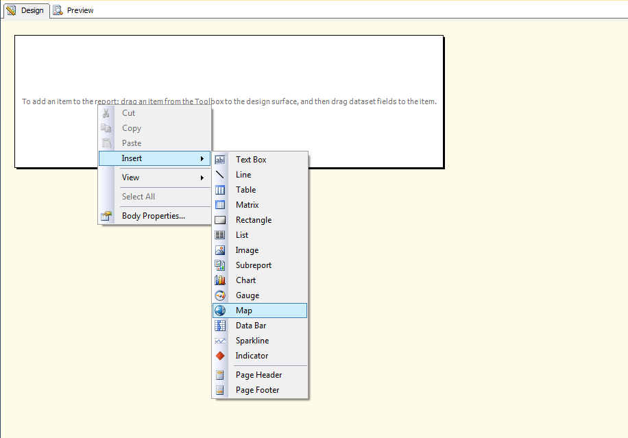 MAPS In SSRS - Ssrs us map