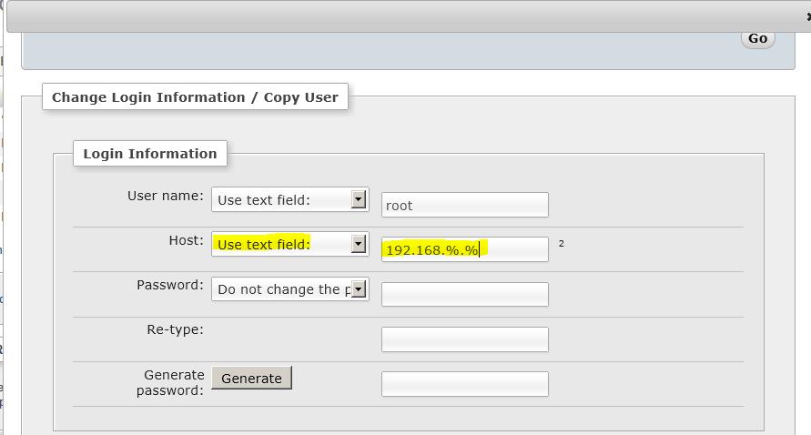Accessing XAMPP MySQL database remotely + locally