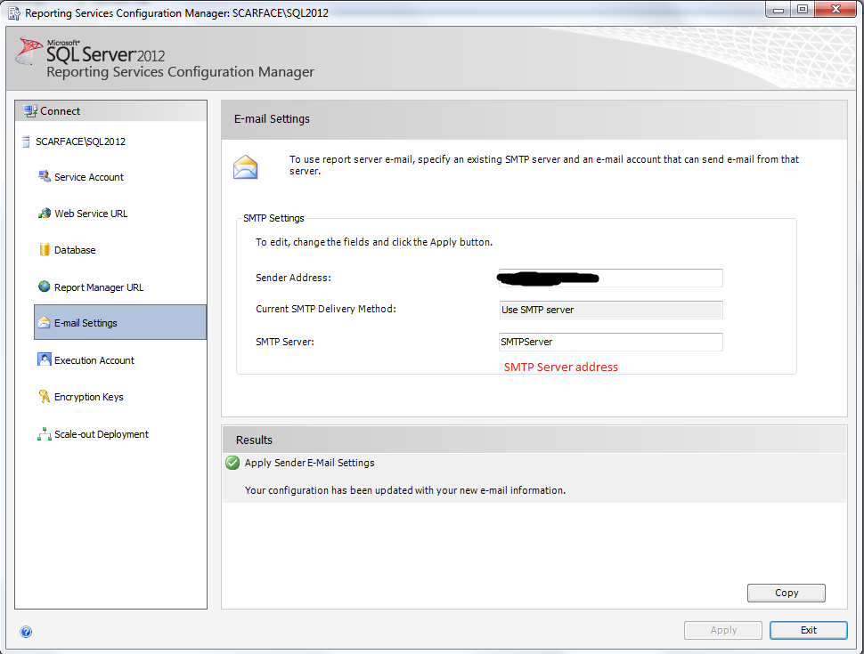 Setting up Email Subscriptions in SSRS