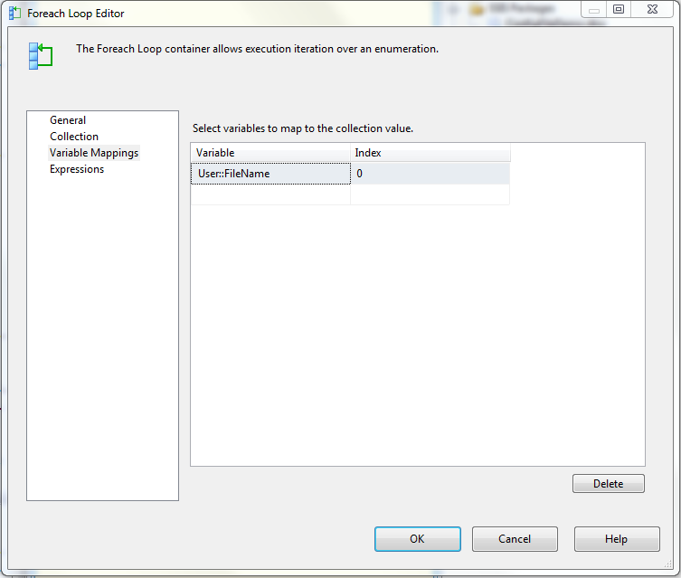 Using configuration file for SSIS package