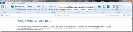 Windows Live Writer Demo 1